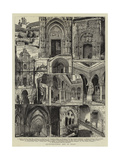 Architectural Art in Spain Giclee Print