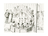 Knights of the Round Table Giclee Print