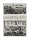 The Heidelberg Festivities Giclee Print