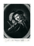 The Humorous Fiddler, 1767 Giclee Print