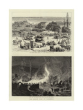 The Great Fire at Salonica Giclee Print