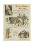 Diana Wood's Wedding Giclee Print