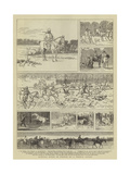 Hunting Notes in France Giclee Print