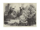 The Christmas Conjuror Giclee Print