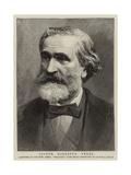 Signor Giuseppe Verdi Giclee Print