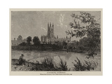 Gloucester Cathedral Giclee Print