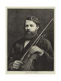 Herr Joseph Joachim Giclee Print