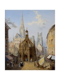 Chichester Cross Giclee Print