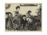 A Musical Rehearsal Giclee Print