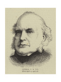 General C R Fox Giclee Print