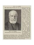 Mr C H Parkes Giclee Print