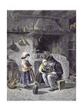 Breakfast, 1877 Giclee Print