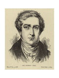 Sir Robert Peel Giclee Print