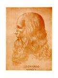 Leonardo Da Vinci, 1884-90 Giclee Print