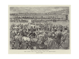 The Race for the Grand Prix at Deauville Giclee Print