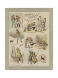 Robinson Crusoe Giclee Print