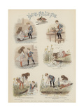How Teddie and His Sister Adapted a Nursery Rhyme Giclee Print