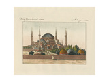 Saint-Sophia Cathedral in Constantinople Giclee Print