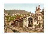 Thermal Spring Colonnade, Karlovy Vary, Pub. 1890-1900 Giclee Print