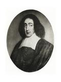 Baruch Spinoza, 1884-90 Giclee Print