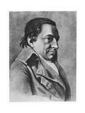 Johann Gottlieb Fichte Giclee Print