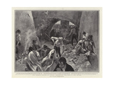 The Bubonic Plague at Naples, Destroying the Rats in the Sewers Giclee Print