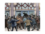 London. Picadilly. Socialist Agitation. February 8, 1886 Giclee Print