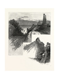 Salt Works on Lake Huron, Canada, Nineteenth Century Giclee Print