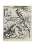Beheading of Saint Barbara, C. 1501 Giclee Print