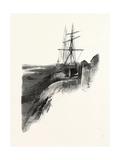 Nova Scotia, Low Tide, Windsor, Canada, Nineteenth Century Giclee Print