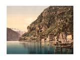 The Ponale Road, Riva, Lake Garda, Italy, C.1890-C.1900 Giclee Print