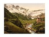 La Cirque, Gavarnie, Pyrenees, France, C.1890-C.1900 Giclee Print