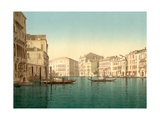 Grand Canal, Venice, Italy, C.1890-C.1900 Giclee Print