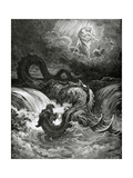 Destruction of Leviathan, 1865 Giclee Print