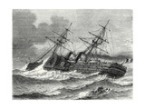 The 'Napoleon Iii' Transatlantic French Liner Launched in 1866 Giclee Print