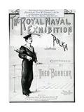 The Royal Naval Exhibition Polka Giclee Print