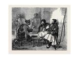 Bashi Bazouks Playing at Chess Giclee Print
