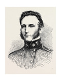 Major-General Stonewall Jackson of the Confederate Army 1862 Giclee Print