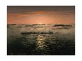 Sunrise, Ventimiglia, Rivier, C.1890-1900 Giclee Print