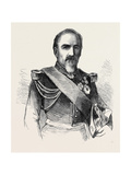 General Camou Commander of the 2nd Division of the Imperial Guard Giclee Print