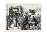 The Distress at Sheffield: Distributing Soup at Brightside 1879 Giclee Print