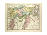 Map of the Asian Provinces of the Roman Empire (Small Asia and Syria) Giclee Print