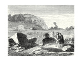 Salomon De Caus Directs the Creation of the Gardens of Heidelberg Giclee Print