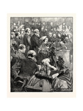 The Newfoundland Delegates at the Bar of the House of Lords Giclee Print