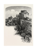 Walls of Constantinople, Istanbul, Turkey, 19th Century Giclee Print