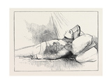 Napoleon I, May 5 1821, Aged 52, St. Helena Two Days after His Death Giclee Print