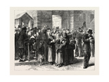 Serving Soup in the Faubourg Poissoniere, Paris, France, 1870 Giclee Print