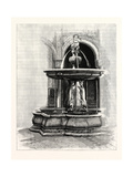 Fountain in Patio of Pilate's House, Seville, Spain Giclee Print