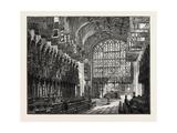 The Choir, St. George's Chapel, Windsor, UK Giclee Print