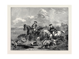 Just Found: Hold Hard, and Let the Hounds Go By Giclee Print